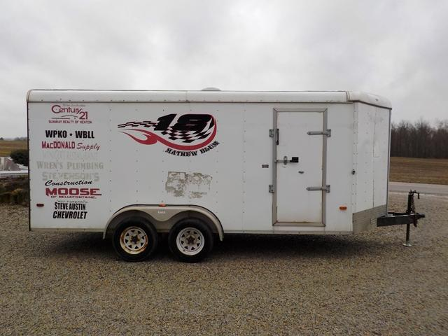 2004 Horton Trailers 716 TA2 Enclosed Cargo Trailer