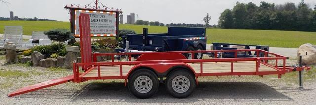 2015 Quality Steel and Aluminum 8216 AN TA Utility Trailer - **** STRAIGHT OUT PRICE ****