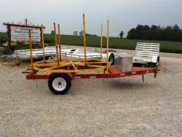 2005 Homemade SPOOL Utility Trailer - USED
