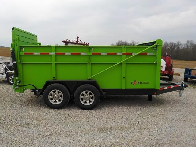 2018 B-Wise DU 14-15 ULTIMATE Dump Trailer