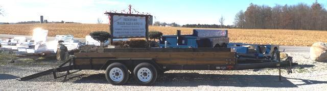1994 Hudson Bros. Trl Mfg. HSE 18 Equipment Trailer
