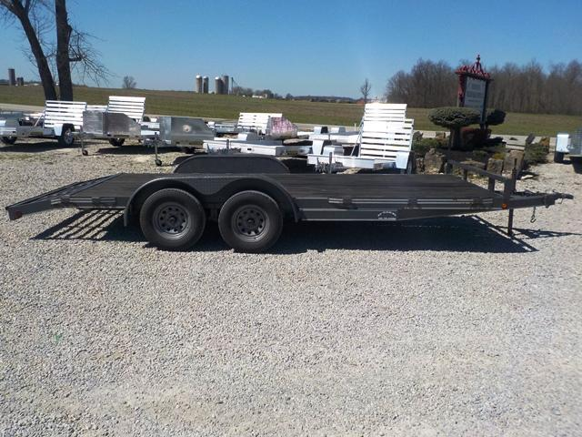 2005 May Trailers 83x16 + 2 Auto Hauler Trailer