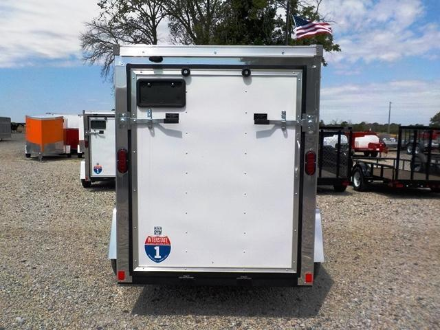 2017 Interstate SFC 58 SAFS Enclosed Cargo Trailer
