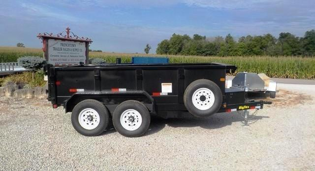 2017 Big Tex Trailers 12LX-12 BK 7SIR Dump Trailer