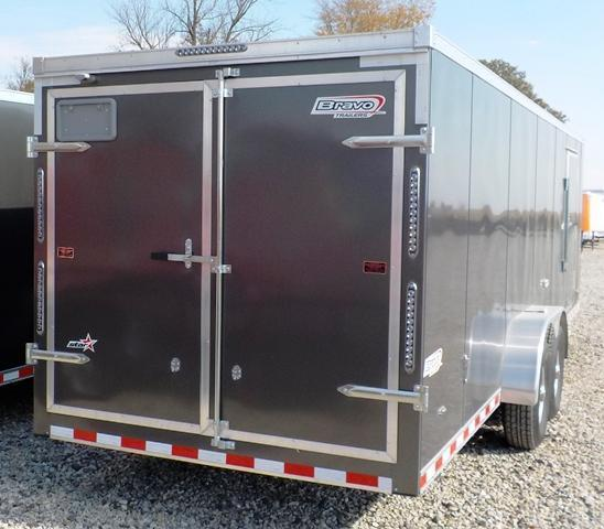 2016 Bravo Trailers ST 724 TA4 Enclosed Cargo Trailer