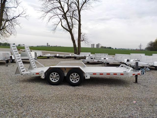 2018 Aluma TR 8216 14K Equipment Trailer