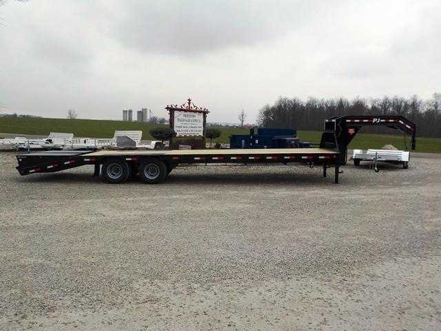 2017 PJ Trailers 25' + 5' LDR30A2BSSWO Equipment Trailer