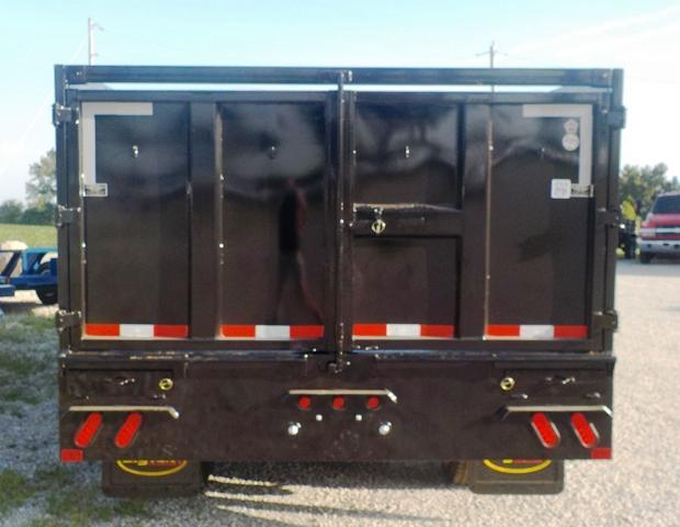 2017 Big Tex Trailers 25DU-20HD BK8SIR Dump Trailer