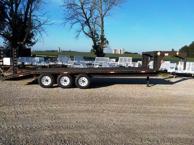 2001 Rush and Son  Model GN 9000 Equipment Trailer