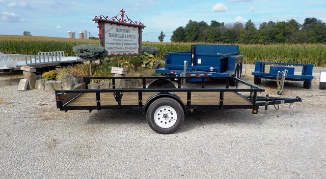 2017 Trailerman Trailers Inc. UTT 7012 N35 Utility Trailer
