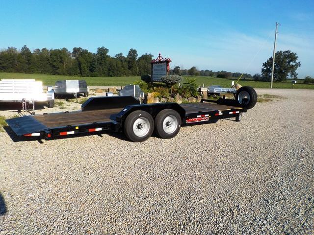 2017 Trailerman Trailers Inc. CTT 7418 N14 Cushion Tilt Equipment Trailer