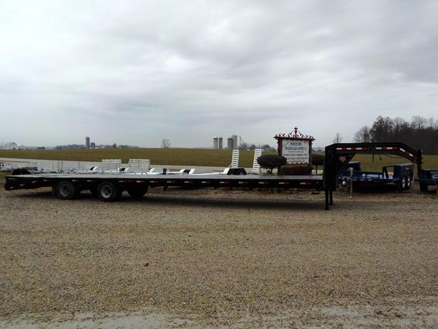 2014 PJ Trailers LDR40C2BSWOBNJA06 Equipment Trailer ** USED **