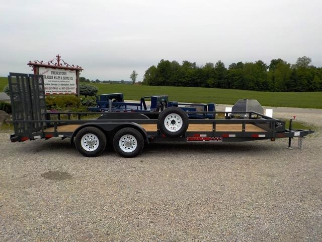 2019 Trailerman Trailers Inc. TUT 6162 W10 Utility Trailer