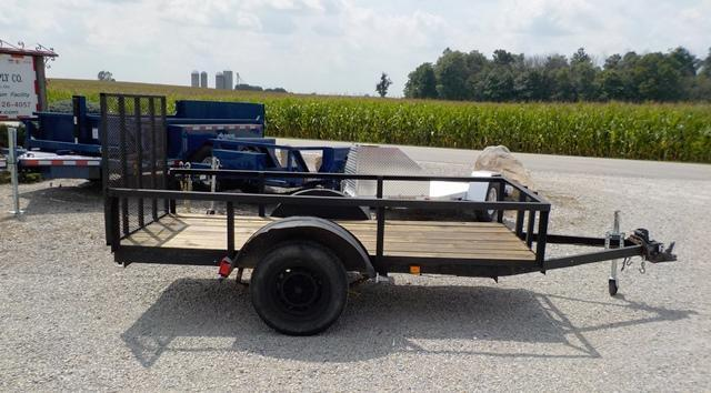 1985 Homemade 5310 Utility Trailer