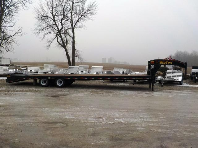 2015 Big Tex Trailers 25GN HD 30
