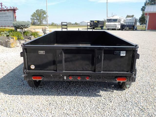 2017 Big Tex Trailers 70SR-10x6 Dump Trailer