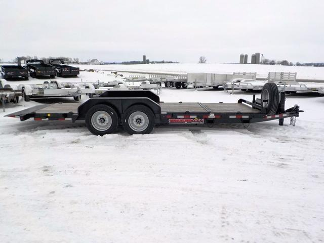 2019 Trailerman Trailers Inc. CTT7416 N14 164 CUSHION TILT Equipment Trailer