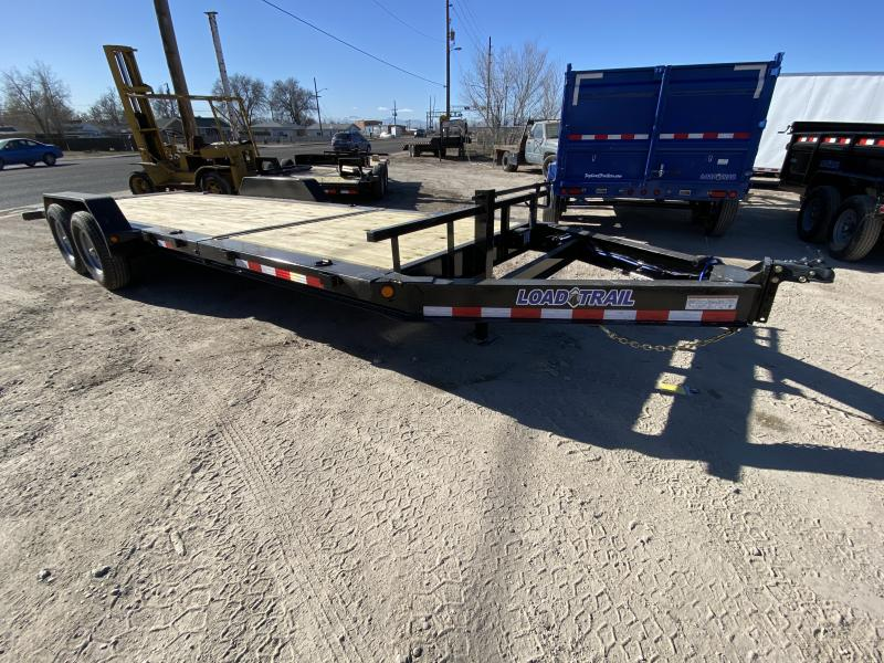 2020 LOADTRAIL LLC 83-HD22TILTEquipmentHauler Flatbed Trailer