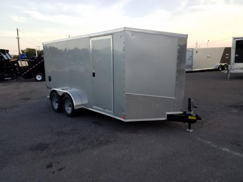 2018 Cargo Express XLW 7X14 SCREWLESS Enclosed Cargo Trailer
