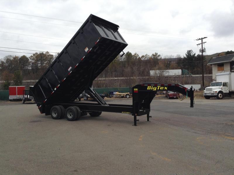 2018 Big Tex Trailers DEALER DEMO!!!!!!!! 25DU-20 Dump Trailer