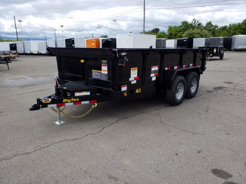 2020 Big Tex Trailers 14LX 7X14 14K RAMPS Dump Trailer