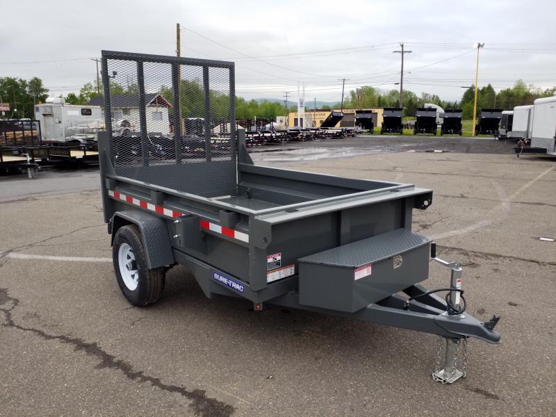 2018 Sure-Trac 5X8 RAMP - Dump Trailer