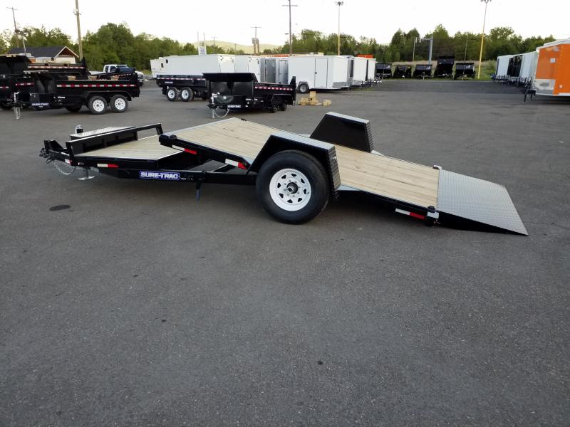 2019 Sure-Trac 78X124 7.8 GVWR TILT Equipment Trailer