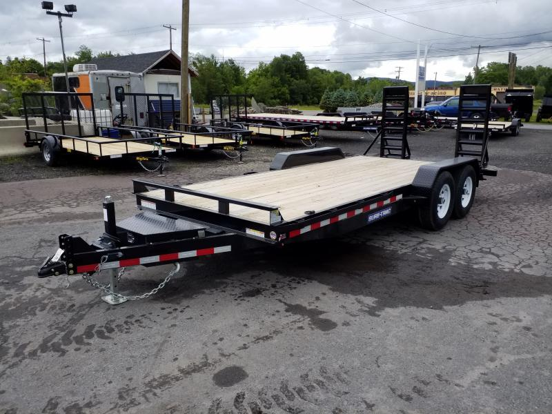 2019 Sure-Trac 18 14K TOOL BOX Equipment Trailer