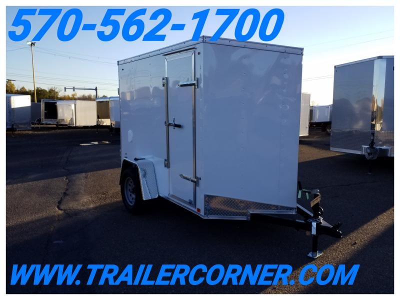 2019 Look Trailers STLC 5X8 V-NOSE/RAMP Enclosed Cargo Trailer