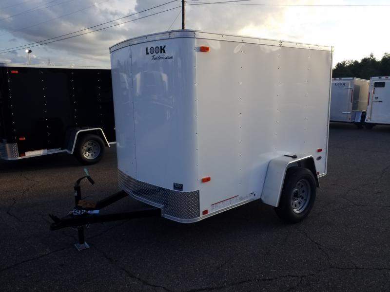 2019 Look Trailers STLC 5X8 BARN DOOR Enclosed Cargo Trailer
