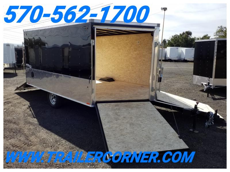 2019 Look Trailers EDFT 8.5X12 Snowmobile Trailer