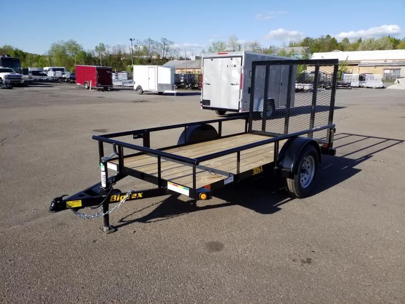 2019 Big Tex Trailers 30SA-10 5X10 Utility Trailer