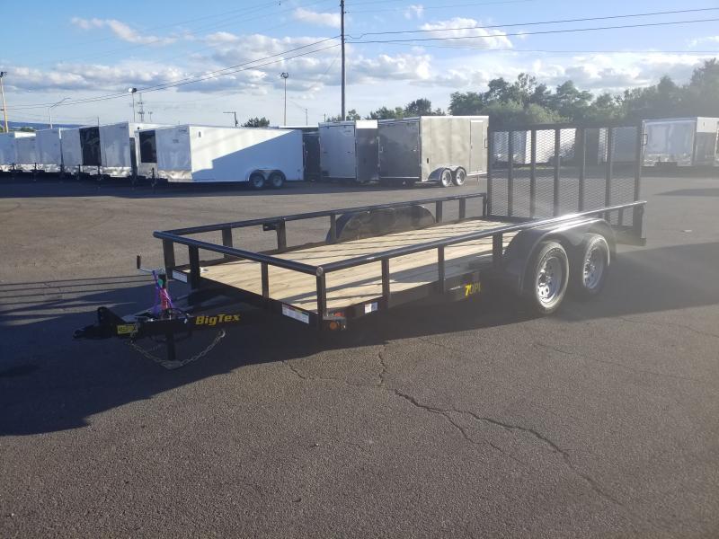 2020 Big Tex Trailers 70PI-16 7X16 7K Utility Trailer