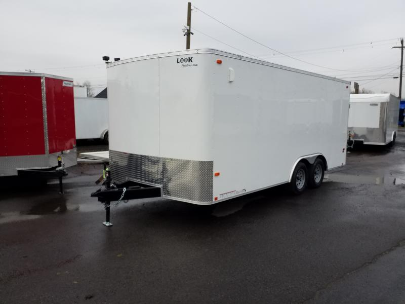 2019 Look Trailers ST 8.5X18 7K Car / Racing Trailer