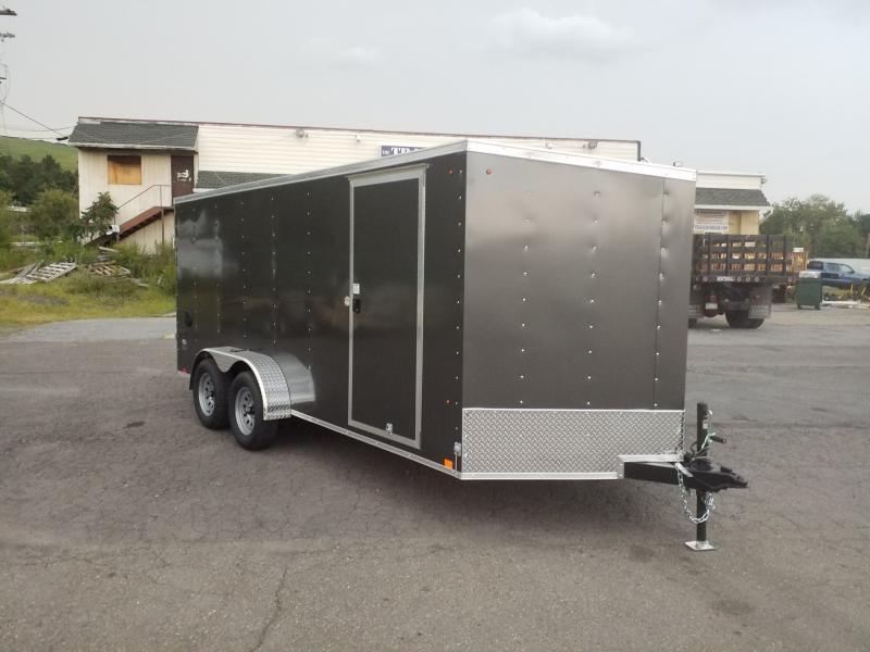 2020 Look Trailers STLC 7X16 RAMP DOOR Enclosed Cargo Trailer