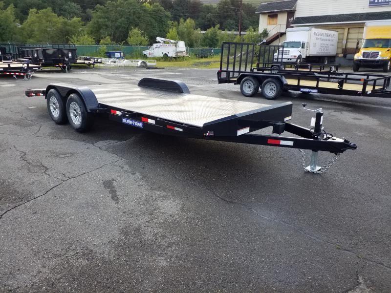 2019 Sure-Trac 7X20 10K STEEL DECK Car / Racing Trailer