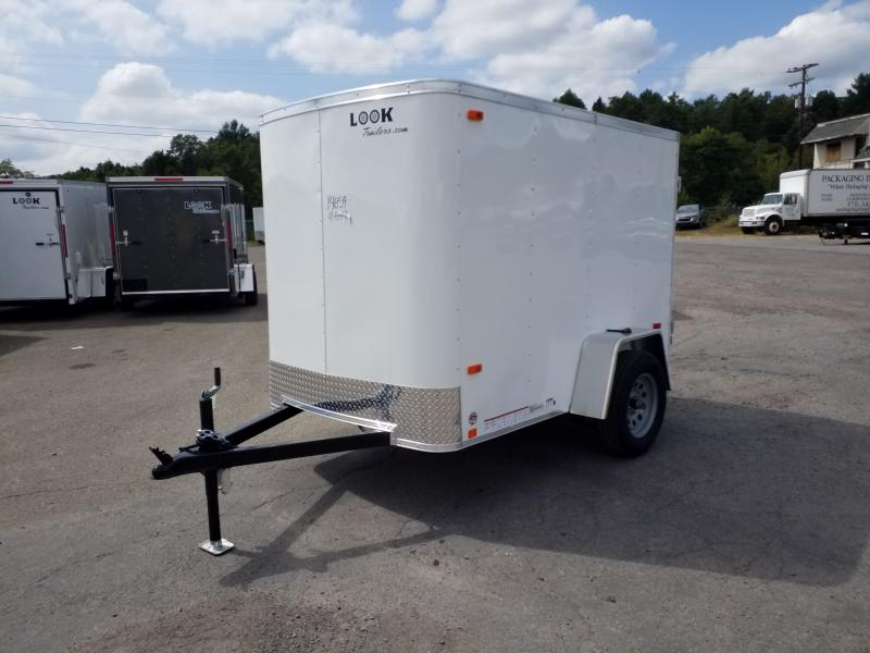 2020 Look Trailers STLC 5X8 RAMP DOOR Enclosed Cargo Trailer