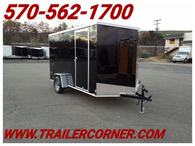 2019 Look Trailers STLC 6X12 6 EXTRA HEIGHT Enclosed Cargo Trailer