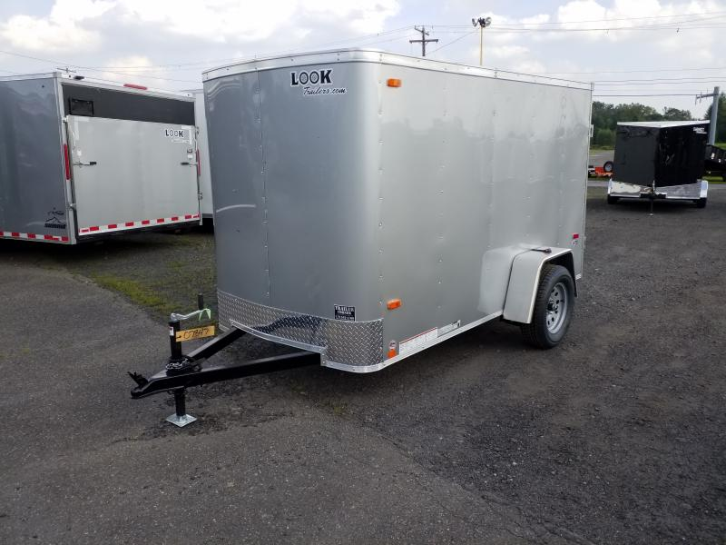 2019 Look Trailers STLC 5X10 RAMP DOOR Enclosed Cargo Trailer