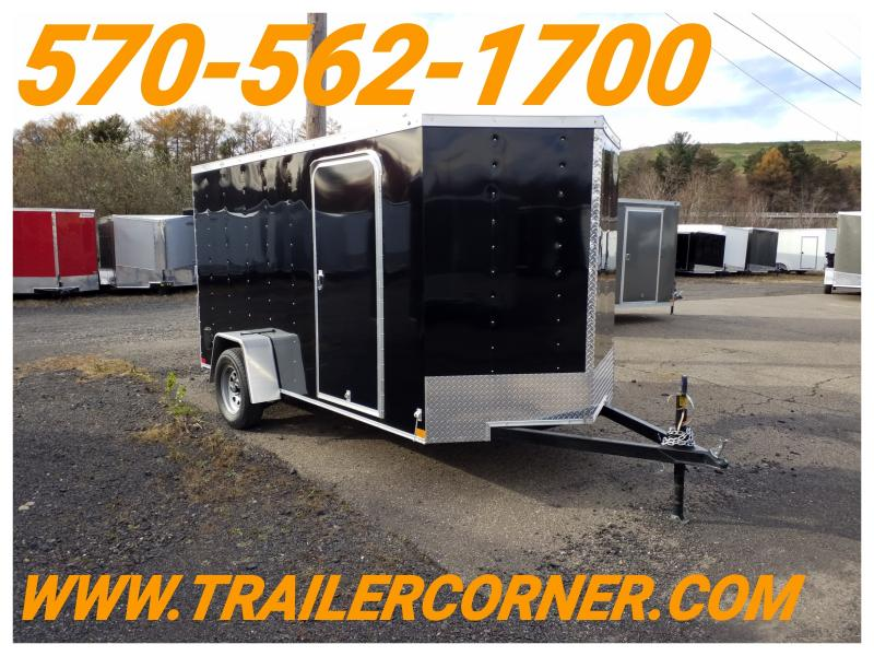 2019 Wells Cargo WCVG 6X12 RAMP DOOR Enclosed Cargo Trailer