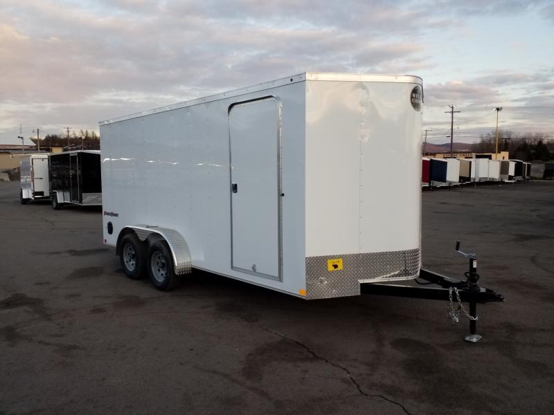 2019 Wells Cargo FT 7X16 RAMP DOOR EXTRA HEIGHT  Enclosed Cargo Trailer