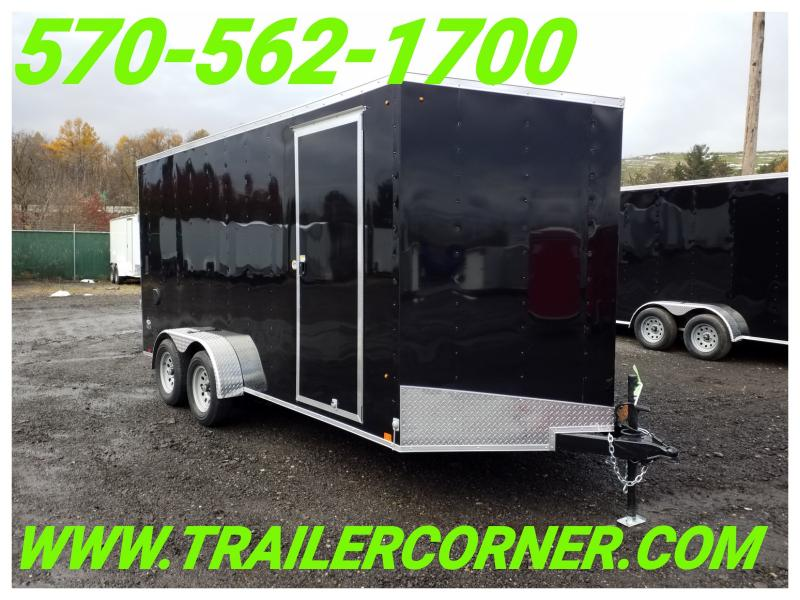 2019 Look Trailers STLC 7X16 UTV-JACKS-RAMP Enclosed Cargo Trailer