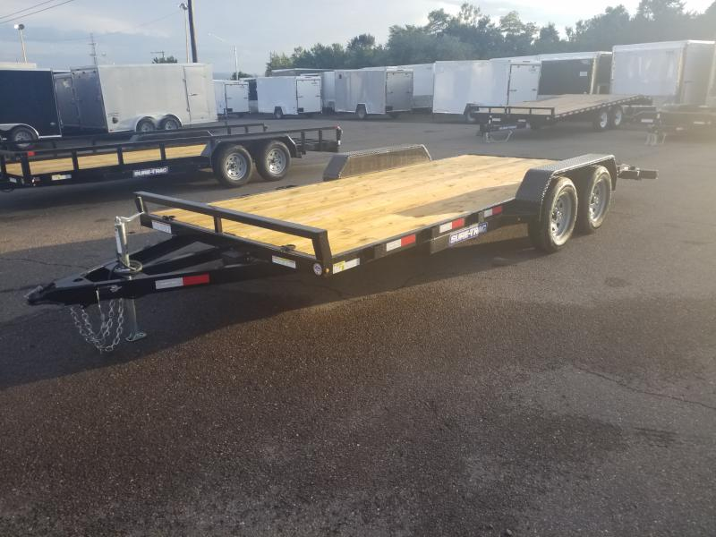 2020 Sure-Trac 7X18 7K Car / Racing Trailer