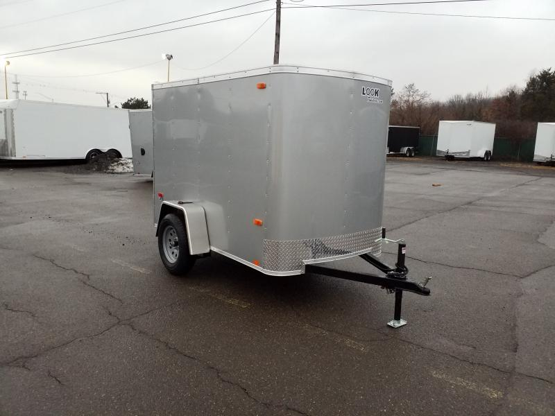 2019 Look Trailers STLC 5X8 BARN DOOR Enclosed Cargo Trailer