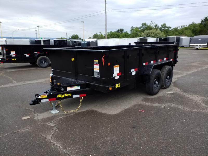 2019 Big Tex Trailers 14LX 7X14 14K RAMPS Dump Trailer