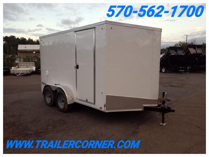 2019 Cargo Express EX 7X12 BARN DOORS Enclosed Cargo Trailer