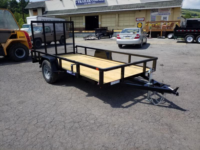 2020 Sure-Trac 6X12 TUBE TOP Utility Trailer