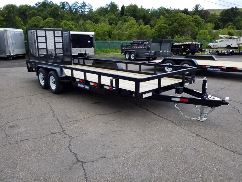 2019 Sure-Trac 7X20 10K HEAVY DUTY Utility Trailer