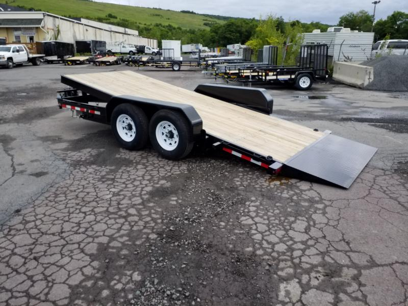 2019 Sure-Trac 18FT 14K TILT Equipment Trailer