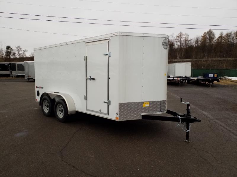 2019 Wells Cargo FT 7X14 RAMP DOOR Enclosed Cargo Trailer